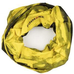 Finmark FS-006 žlutá UNI - Multifunkční šátek