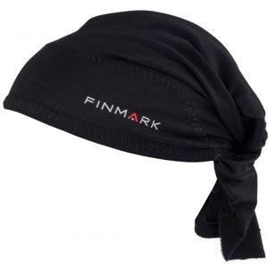 Finmark FS-020 černá UNI - Funkční trojcípý šátek