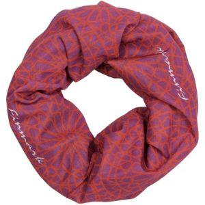 Finmark Multifunkční šátek růžová UNI - Multifunkční šátek
