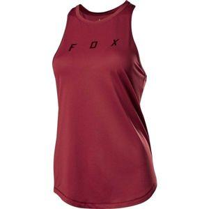 Fox FLEXAIR TANK W červená XL - Dámské cyklo tílko