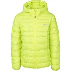 Head ARUN zelená 140-146 - Dětská zimní bunda