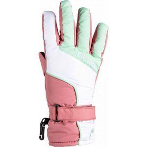 Head ASA růžová 14-16 - Dětské zimní rukavice