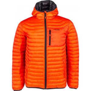 Head PATRICK oranžová XXL - Pánská prošívaná bunda