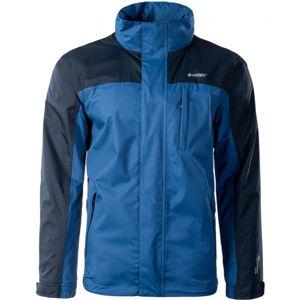 Hi-Tec DIRCE modrá S - Pánská outdoorová bunda