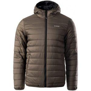 Hi-Tec NISOR hnědá XL - Pánská zimní bunda