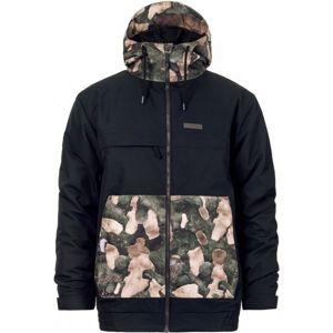 Horsefeathers WILLIS JACKET černá M - Pánská lyžařská bunda