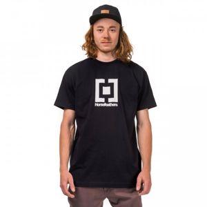 Horsefeathers BASE T-SHIRT černá L - Pánské tričko