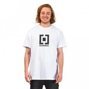 Horsefeathers BASE T-SHIRT bílá S - Pánské tričko