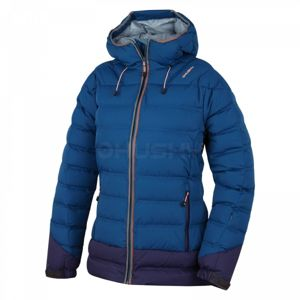 Husky FADIN L modrá L - Dámská péřová bunda