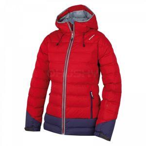 Husky FADIN L červená XL - Dámská péřová bunda