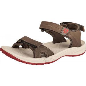 Jack Wolfskin LAKEWOOD CRUISE SANDAL béžová 6 - Dámské turistické sandály