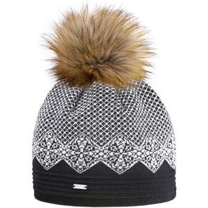 Kama ČEPICE MERINO A152  UNI - Dámská pletená čepice s jemným vzorem