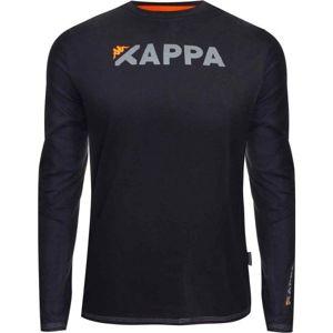 Kappa LOGO CANGLEX černá S - Pánské triko s dlouhým rukávem