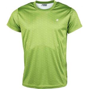 Kensis GOZO zelená S - Pánské sportovní triko