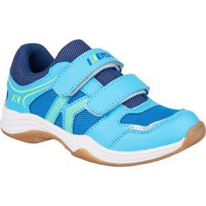 Kensis WIGO modrá 31 - Dětská sálová obuv