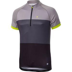 Klimatex AVNER šedá M - Pánský cyklistický dres