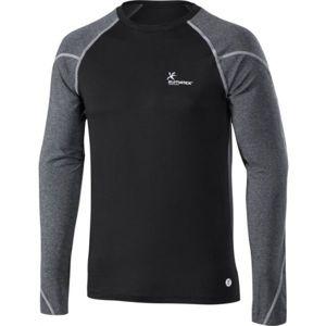 Klimatex CORNEL černá L - Pánské zimní triko s dlouhým rukávem