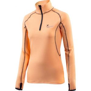 Klimatex DENISE růžová XL - Dámský outdoorový pulovr