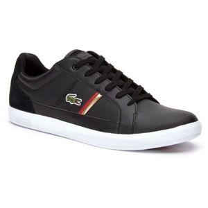 Lacoste EUROPA 319 černá 46 - Pánské nízké tenisky