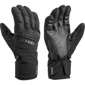 Leki SPACE GTX černá 9.5 - Sjezdové rukavice