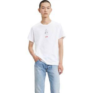 Levi's X STAR WARS GRAPHIC TEE SHIRT bílá L - Pánské tričko