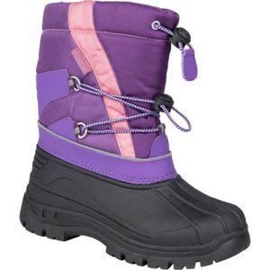 Lewro CANE IV fialová 26 - Dívčí zimní obuv