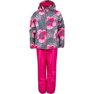 Lewro PAZ červená 164-170 - Dětský set bunda + kalhoty