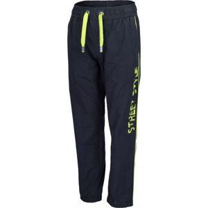 Lewro SORES zelená 116-122 - Dětské plátěné kalhoty