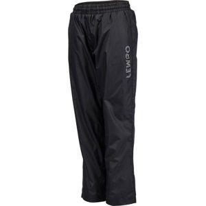 Lewro SURRI zelená 164-170 - Dětské zateplené kalhoty