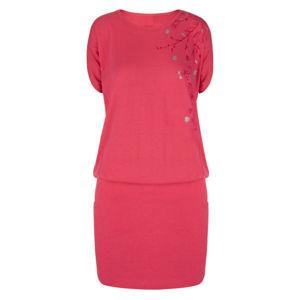 Loap ASLANA růžová S - Dámské sportovní šaty