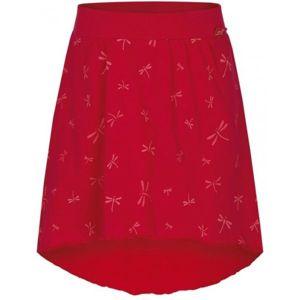 Loap BRENTINA červená 146-152 - Dívčí sukně
