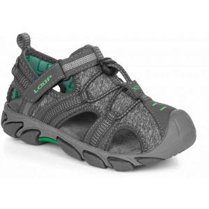 Loap INDER šedá 35 - Dětské sandály
