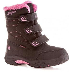 Loap KITTAY růžová 32 - Dětská zimní obuv