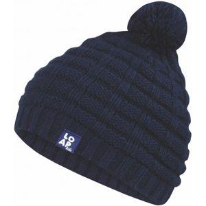 Loap MARK tmavě modrá 48 - Dětská zimní čepice