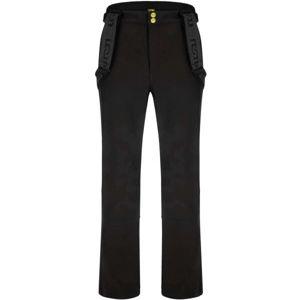 Loap LYENER černá XL - Pánské softshellové kalhoty