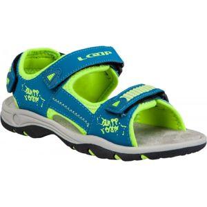 Loap PIMM modrá 28 - Dětské letní sandály