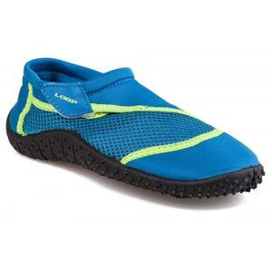 Loap SHARK KID zelená 28 - Dětské boty do vody