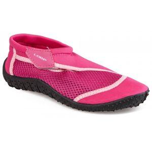 Loap SHARK KID růžová 30 - Dětské boty do vody