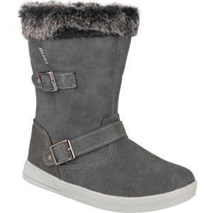 Lotto COLEN tmavě šedá 34 - Dětská zimní obuv