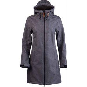 Lotto TINTA tmavě šedá XL - Dámský softshellový kabát