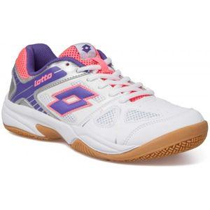 Lotto JUMPER V bílá 10 - Dámská sálová obuv