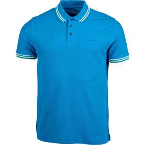 Lotto POLO CLASSICA PQ modrá S - Pánské polo triko