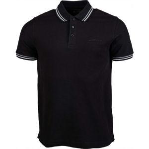 Lotto POLO CLASSICA PQ černá XL - Pánské polo triko