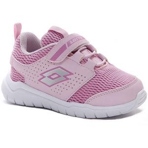 Lotto SPACEULTRA INF SL růžová 22 - Dětské volnočasové boty