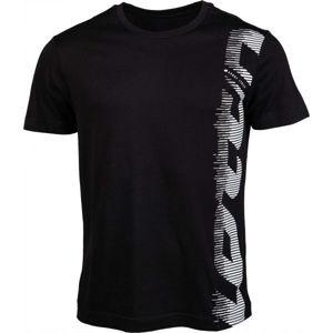 Lotto TEE MORE JS černá M - Pánské tričko