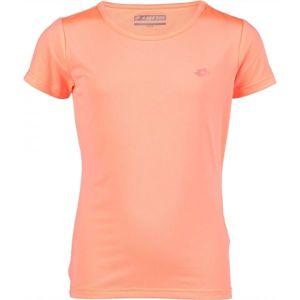 Lotto VIVI oranžová 128-134 - Dívčí sportovní tričko