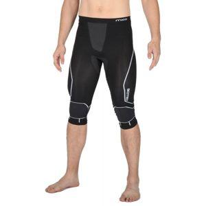 Mico 3/4 TIGHT PANTS WARM SKIN černá XL/XXL - Pánské lyžařské 3/4 spodní kalhoty