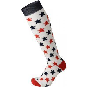 Mico KIDS PROTECTION bílá S - Juniorksé lyžařské ponožky