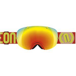 Neon BREAK červená NS - Lyžařské brýle