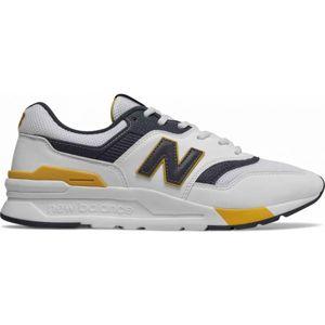 New Balance CM997HDL bílá 7 - Pánská vycházková obuv